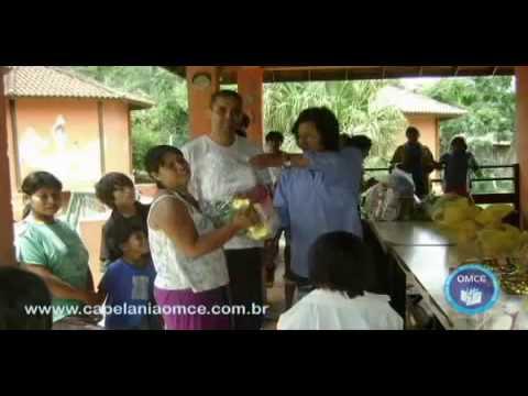 Ação social na trido dos índios Guaranís - Capelania internacional OMCE