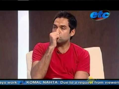 Komal Nahta with Abhay Deol