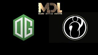 OG vs iG.Vitality MDL Changsha Highlights Dota 2