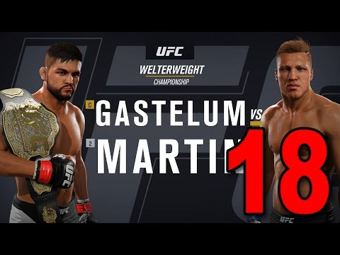 UFC 2 Career Mode - Part 18 - WELTERWEIGHT TITLE FIGHT! (EA Sports UFC 2016 Gameplay)