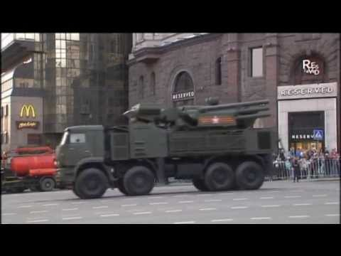 Moscow Victory Day Parade Rehearsal: Tanks and weapons drive through the streets of Russia's capital