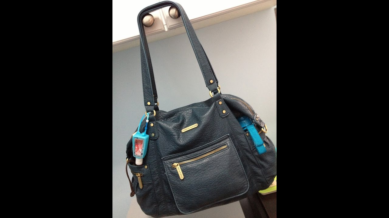 review timi leslie abby diaper bag youtube. Black Bedroom Furniture Sets. Home Design Ideas
