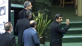 Ahmadinezhad- Larijani 3-2-2013.flv