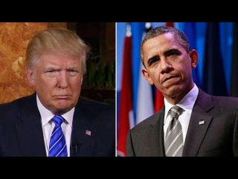 Trump chastises Obama for saying 'funny-looking people'