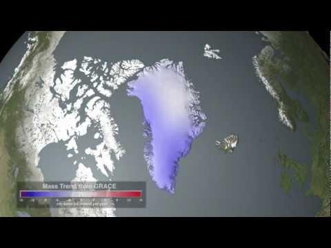 NASA   Glacial Ice Loss: Greenland and Antarctica