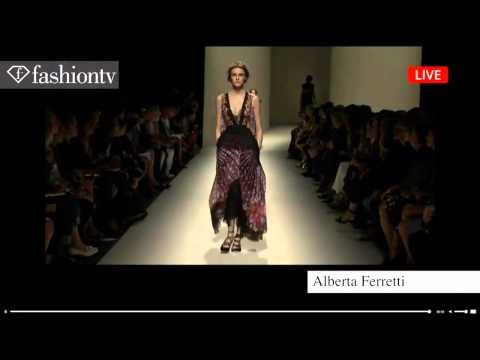 Alberta Ferretti Spring/Summer 2014 | Milan Fashion Week MFW FashionTV