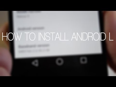 How To Install Android L Developer Preview On Nexus 5 In Under 5 Minutes!