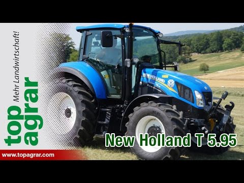 7/8 New Holland T5.95 DualCommand - top agrar Schleppertest 2014