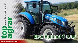 7/8 New Holland T5.95 DualCommand - top agrar Schleppertest 2014