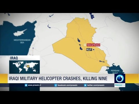 Iraqi Military Helicopter Crashes, Killing Nine People