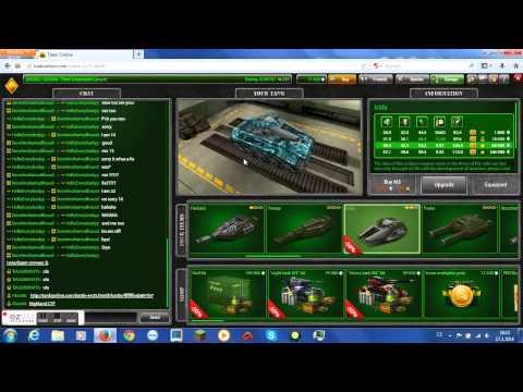 Tanki Online - Buying crystals & upgrading to Isida M2