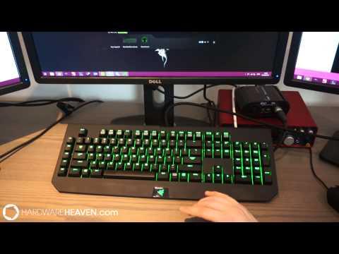 Razer BlackWidow Ultimate 2014 Review - With new Razer mechanical keys