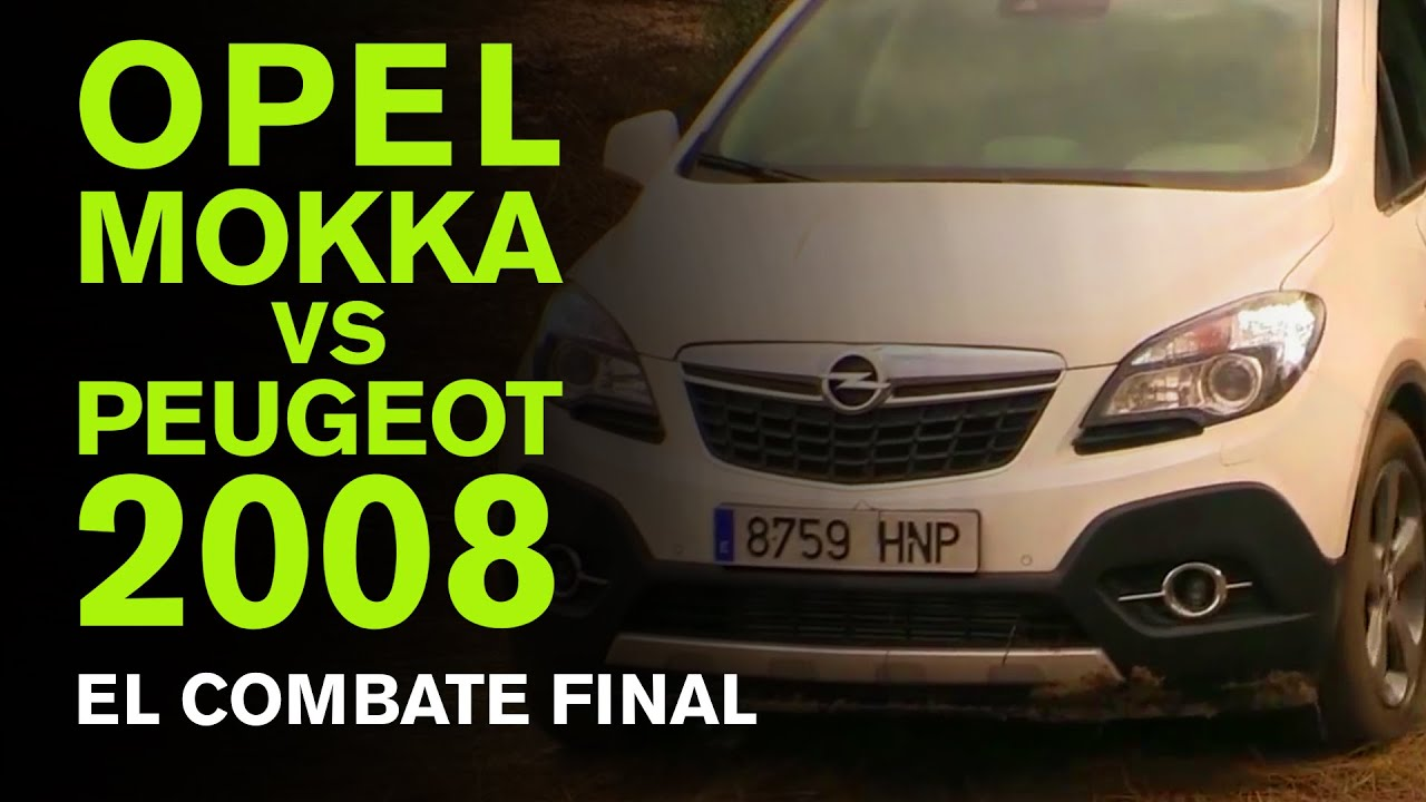 comparativa opel mokka vs peugeot 2008 test drive youtube. Black Bedroom Furniture Sets. Home Design Ideas
