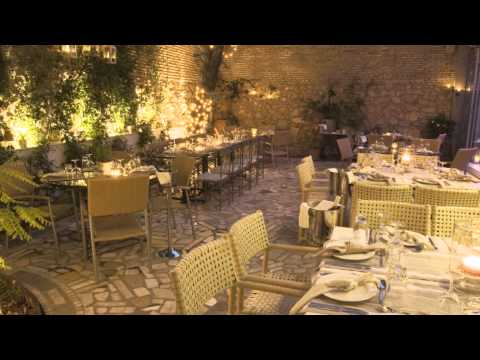 ALERIA Restaurant.Metaxourgeio, Athens, Greece