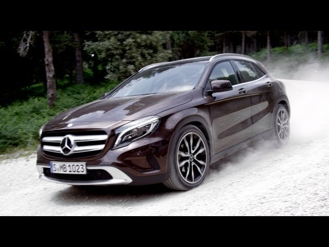 NEW 2014 Mercedes GLA - Official Trailer - YouTube