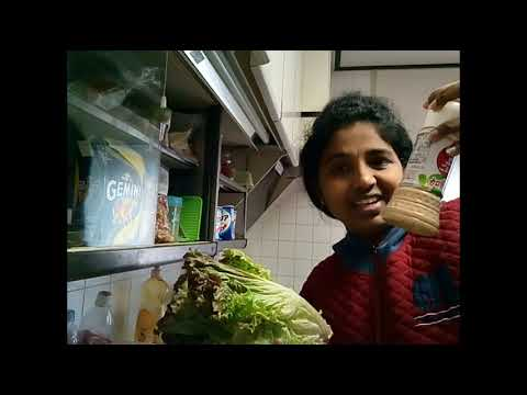 My morning routine. New Telugu vlog web series. Healthy veg salad