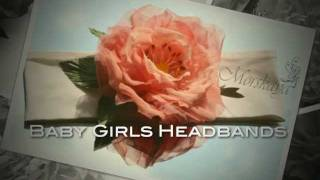 Baby Girls Headbands .mov
