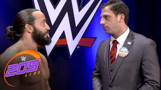 "Tony Nese shows his full support for Drew Gulak's ""no-fly zone"": 205 Live Exclusive, July 11, 201"