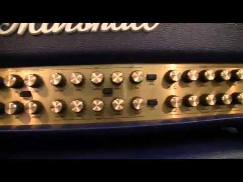 Marshall Joe Satriani JVM410HJSB - MusicMesse 2012