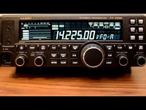 Yaesu FT-450D: Using DSP