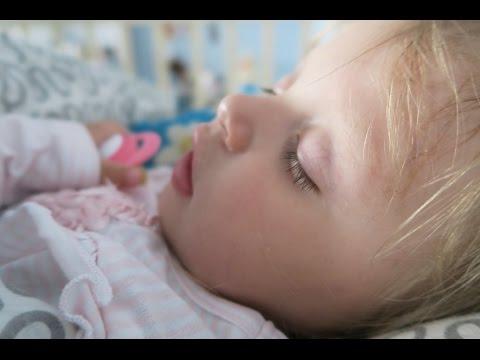 Как научить спать всю ночь без кормлений / Режим с 6 месяцев   PolinaBond