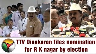 TTV Dinakaran wears