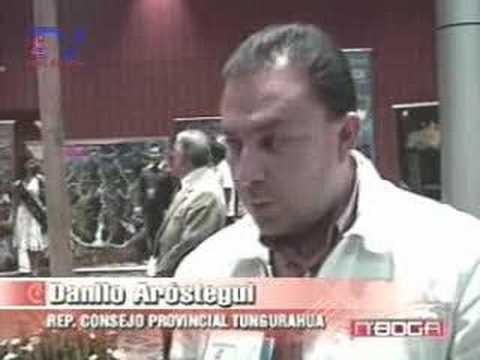 Napo y Tungurahua presentes en Feria ExpoTurismo