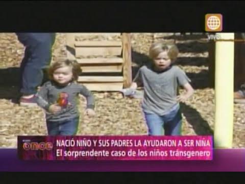 A las Once -EEUU: Niño transgénero podrá usar baño de niñas- 25/06/13
