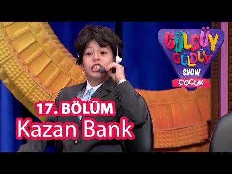 Güldüy Güldüy Show Çocuk 17. Bölüm, Kazan Bank Skeci