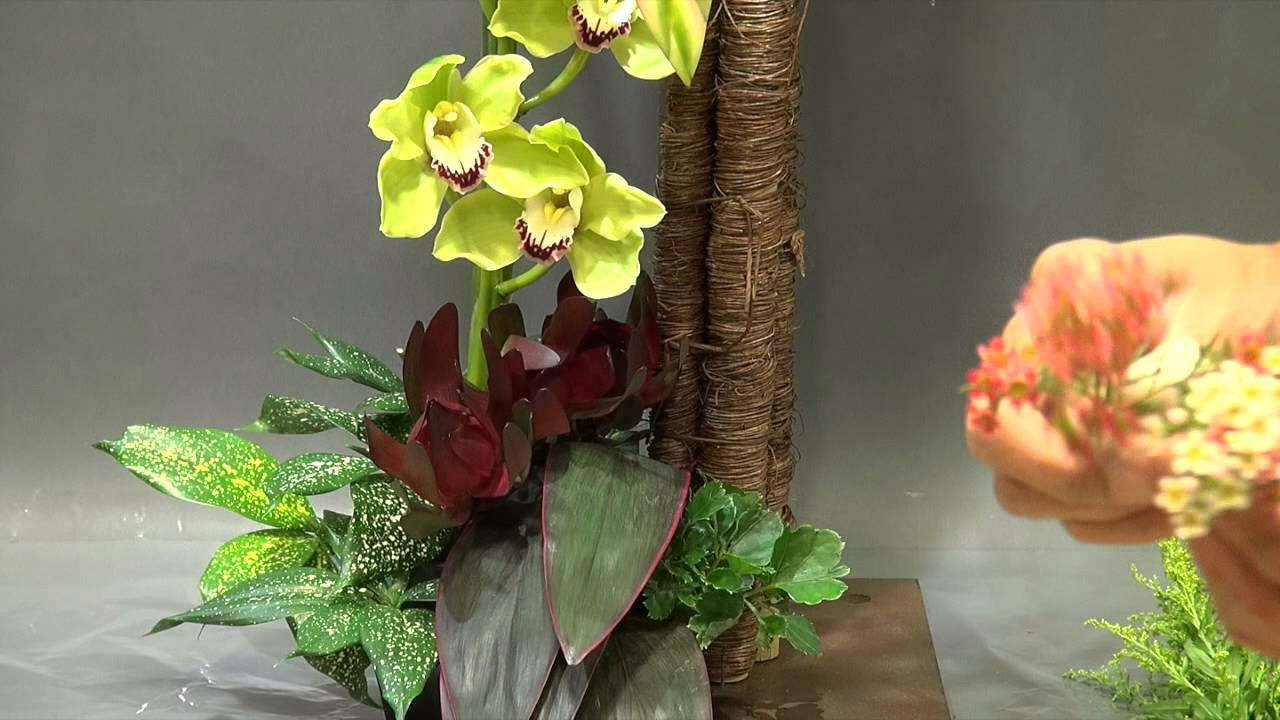 B107 Gordon Lee 花藝設計 Creative Floral Design Youtube