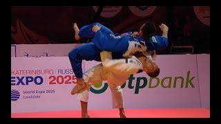 Judo vs Freestyle Wrestling ✓ Awesome Grappling