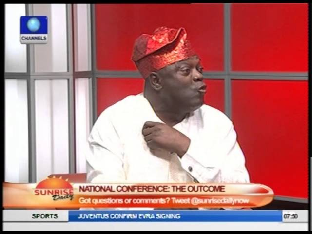 National Conference Resolutions Give More People Stake In Nigeria - Nyiam Part2