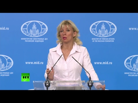 Брифинг Марии Захаровой по текущим вопросам внешней политики — LIVE