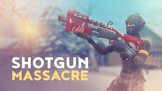 SHOTGUN MASSACRE - HIGH KILL GAME! (Fortnite Battle Royale)