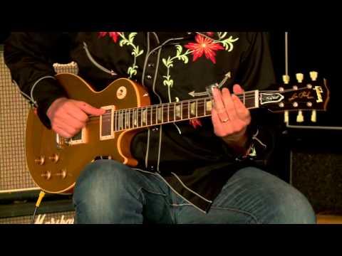 Gibson Custom Shop Lee Roy Parnell Signature Les Paul Goldtop VOS• SN: LRP078