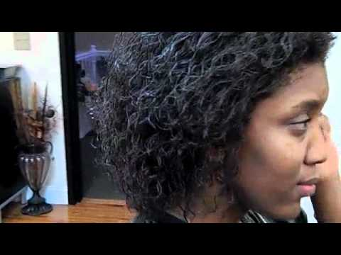 Hair Length with The Gina Curl / Black Hair Growth Journey