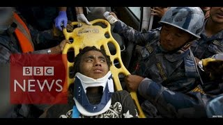 Nepal Earthquake: Teenager rescued after 120hrs under rubble - BBC News