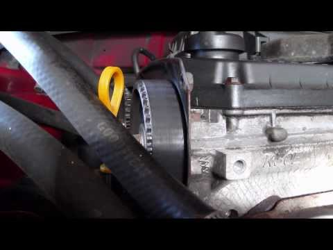 2002 KIA Rio 1.5 Liter Timing Belt Check
