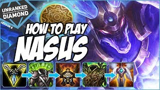 HOW TO PLAY NASUS IN SOLOQ - Unranked to Diamond - Ep. 60 | League of Legends