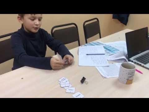 Соревнование по неправильным глаголам - Irregular verbs challenge (#RiverCenter) - Ярослав 10лет