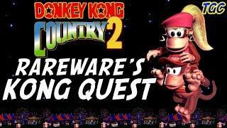 Donkey Kong Country 2 - Rareware's Kong Quest   GEEK CRITIQUE