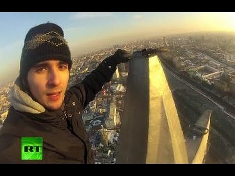 Nerves Of Steel: Daredevil Climber Conquers Stalin Skyscrapers video