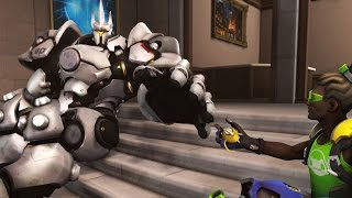 Overwatch - Best Reinhardt Plays