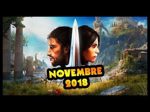 LE CONTENU DU MOIS DE NOVEMBRE ! (Assassin's Creed Odyssey)