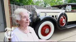 Two Classics, One Car: A Collector Shows Off Her Lifelong Favorite   The New York Times