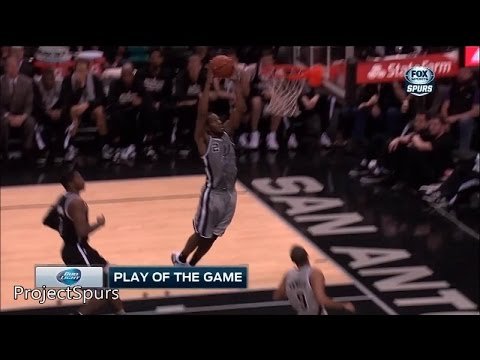 Kawhi Leonard Full Highlights Spurs vs Nets 2014.11.22 - 21 Pts, 9 Reb - Project Spurs