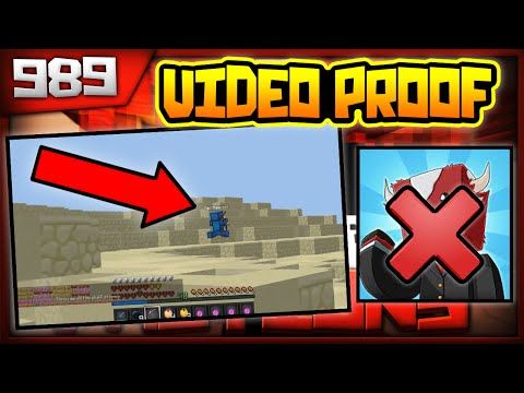 Minecraft FACTIONS Server Lets Play - BEN BANNED FOR HACKS W/ PROOF!!- Ep. 989 ( Minecraft Faction )