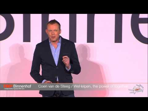 Helping each other is the natural thing to do: Coen van de Steeg at TEDxBinnenhof 2014