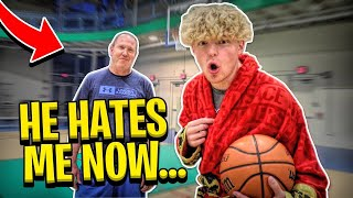Playing My Girlfriends Dad 1v1! (If I Lose, We Break Up)