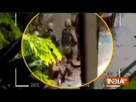 Dhaka Terror Attack Video, Bangladesh Army Entered Cafe with Tanks